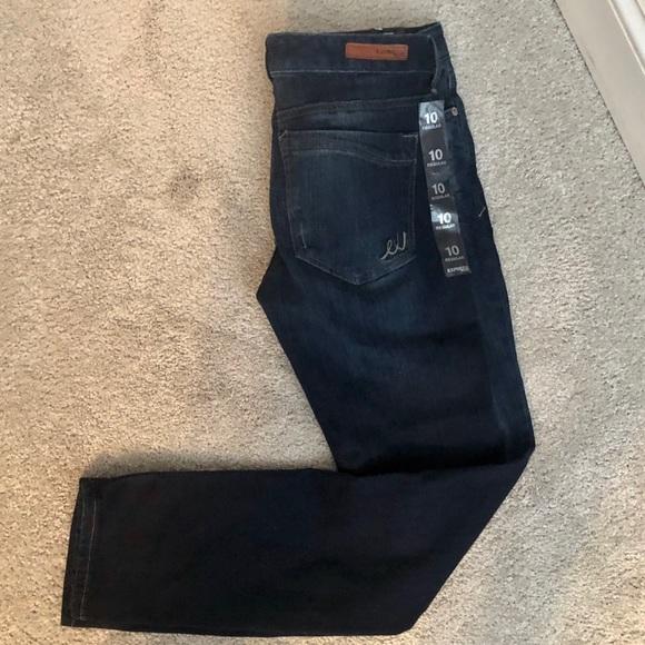 Express Denim - Express Womens jeans skinny Stella low rise size